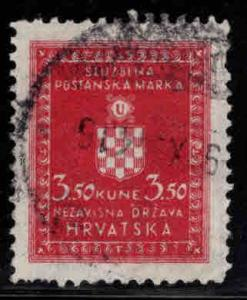 Croatia Scottt o22 Used Official stamp