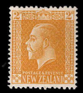 New Zealand Scott 163 MH* KGV