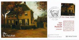 [100458] Sao Tome & Principe 2016 Van Gogh Vicarage at Nuenen Comm. Cover MNH