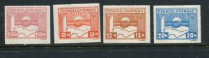 Czechoslovakia #311-4 Mint