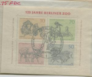 GERMANY BERLIN  9n275  USED  FIRST DAY CANCEL