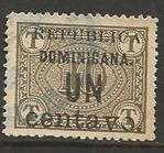 Dominican Republic 170v VFU SMALL A VARIETY A1426