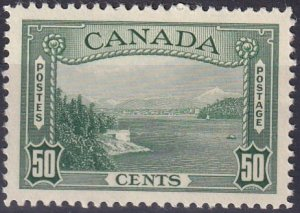 Canada #244 F-VF  Unused  CV $35.00 (Z2606)