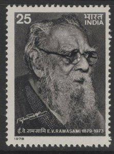 INDIA SG896 1978 E.V.RAMASAMI(SOCIAL REFORMER) COMMEMORATION MNH