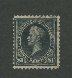 1895 United States Postage Stamp #276A Used F/VF Faded Postal Cancel