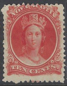 Nova Scotia #12 MNG CV$15.00 [173170]