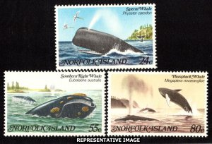 Norfolk Islands Scott 290-292 Mint never hinged.