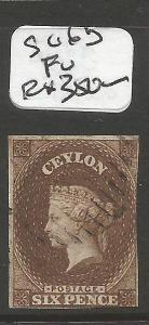 Ceylon SG 6b FU (8cmj)