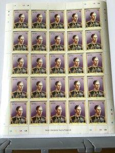 Barbuda King George V1 1936-1952 full mint never hinged  stamps sheet ref R23565