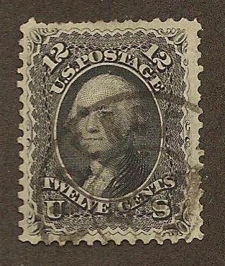 69 Used, 12c. Washington, XF, scv: $95, Free Shipping