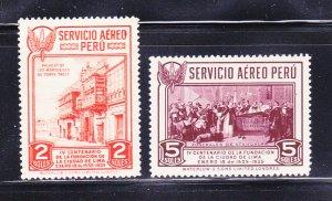 Peru C10-C11 MH Various
