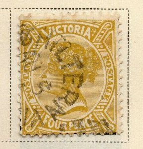 Victoria 1881-83 Early Issue Fine Used 4d. 326804