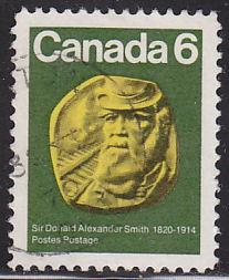 Canada 531 Hinged Used 1970 Sir Donald Alexander Smith