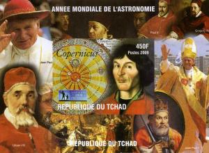 CHAD 2009 Copernicus s/s Imperforated mnh.vf