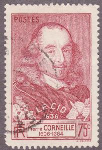 France 323 Hinged 1937 Pierre Corneille