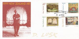 NZFD588) NZ 1999 NZ Art - Doris Lusk (1916-1990) FDC