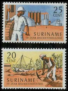 Surinam 341-342 Mint VF NH