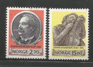 NORWAY, 982-983, MH, SVEDSEN