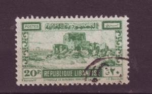J10571 JL stamps @20%scv 1945 lebanon used #178 citidel