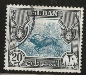 SUDAN Scott 113 Used 1951 stamp