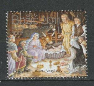 Croatia 2011 Christmas MNH stamp