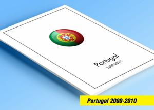 COLOR PRINTED PORTUGAL 2000-2010 STAMP ALBUM PAGES (214 illustrated pages)