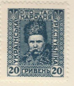 A6P6F23 Ucrania Ukraine 1920 unissued 20g mh