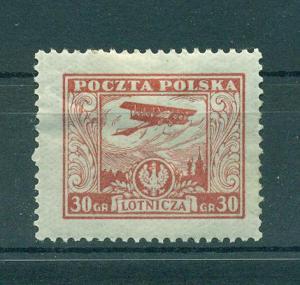 Poland sc# C8 mhr cat value $7.00