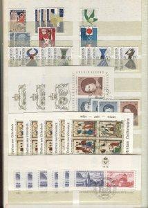 Liechtenstein Accumulation Used CV$6000.00 1912-1976 On Stockpages [67523]