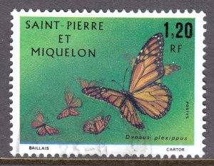 St. Pierre and Miquelon - Scott #440 - Used - Light crease - SCV $5.50