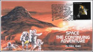 2016, Black River Stamp Club, Mars, New Horizons, Space, 16-358