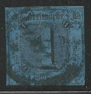 German States Thurns & Taxis Scott #4 Used Stamp CV $140