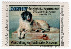 (I.B) Germany Cinderella : Berlin Dog Show (1913)