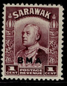 SARAWAK GVI SG126, 1c purple, M MINT.