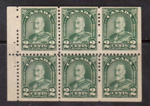 Canada #164a NH Mint Booklet Pane