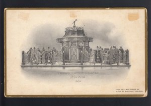 1904 St. Louis EXPO 8x5 Post Card to NY - UNUSUAL