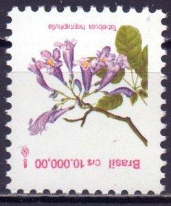Brazil. 1992. 2506. Flowers flora. MNH.