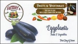 20-162, 2020, SC 5492, Fruits & Vegetables, FDC, Digital Color Postmark,