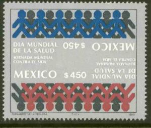 MEXICO 1609 World Day for the fight against AIDS NH