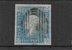 MAURITIUS  1859   2d   QV   FU   SG 37