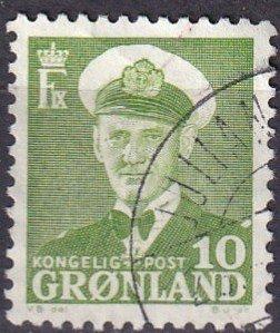 Greenland #30 F-VF Used