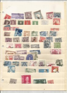 ARGENTINA COLLECTION ON STOCK SHEET, MINT/USED