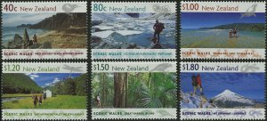 New Zealand # 1602 - 07 Mint Never Hinged