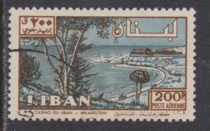 Lebanon Airmail # C302 , Maameltein Casino , F-VF used - I Combine S/H