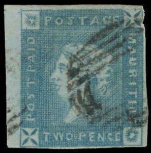 Mauritius Scott 14 Gibbons 37 Used Stamp