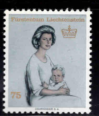 LIECHTENSTEIN Scott 404 MNH** Princess Gina 1965  stamp