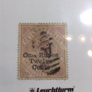 Ceylon  # 115  Used