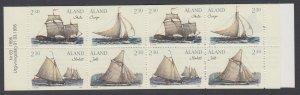 Aland 112a Ships Booklet MNH VF