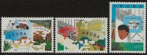 ARUBA  SC #  B32 - 4  MNH
