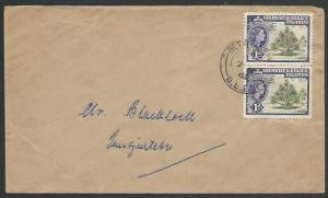 GILBERT & ELLICE IS 1962 local commercial cover ex Betio...................25810